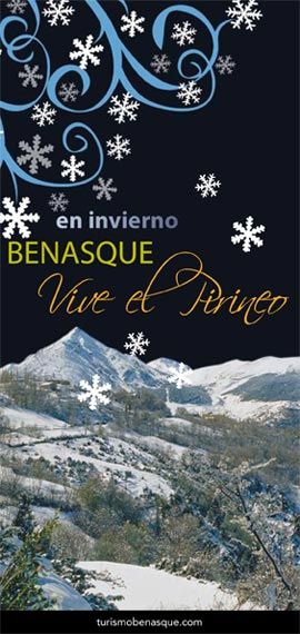 Folleto de temporada invierno en Benasque