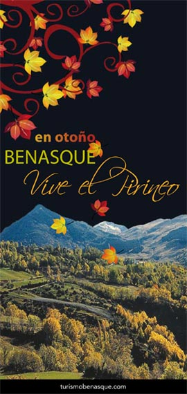 Folleto de temporada otoño en Benasque