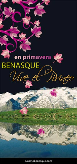 Folleto de temporada primavera en Benasque