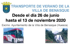 Transporte Urbano Benasque